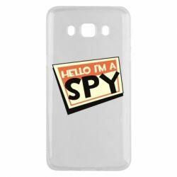 Чохол для Samsung J5 2016 Hello i'm a spy