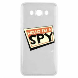 Чохол для Samsung J7 2016 Hello i'm a spy