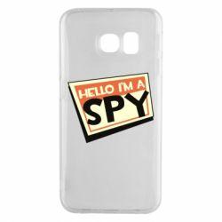 Чохол для Samsung S6 EDGE Hello i'm a spy