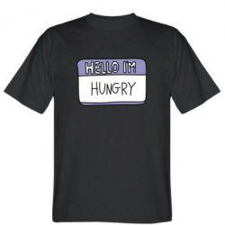 Чоловіча футболка Hello, I'm hungry