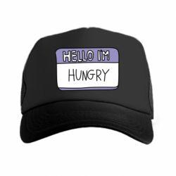 Кепка-тракер Hello, I'm hungry