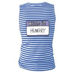 Майка-тільняшка Hello, I'm hungry