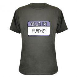 Камуфляжна футболка Hello, I'm hungry