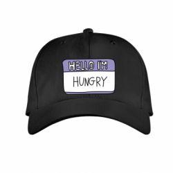 Дитяча кепка Hello, I'm hungry