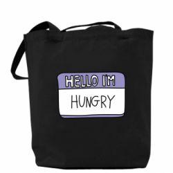 Купить Сумка Hello, I'm hungry, FatLine