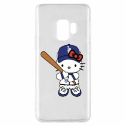 Чохол для Samsung S9 Hello Kitty baseball