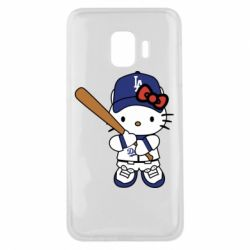 Чохол для Samsung J2 Core Hello Kitty baseball