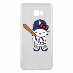 Чохол для Samsung J4 Plus 2018 Hello Kitty baseball