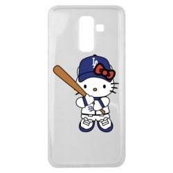 Чохол для Samsung J8 2018 Hello Kitty baseball