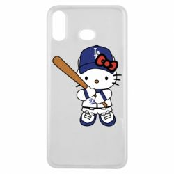 Чохол для Samsung A6s Hello Kitty baseball