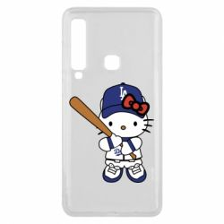 Чохол для Samsung A9 2018 Hello Kitty baseball