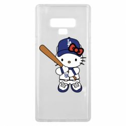 Чохол для Samsung Note 9 Hello Kitty baseball