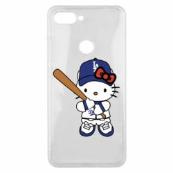 Чохол для Xiaomi Mi8 Lite Hello Kitty baseball