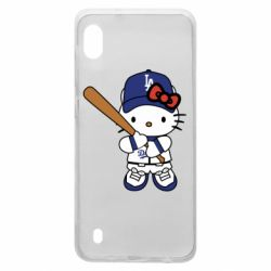 Чохол для Samsung A10 Hello Kitty baseball