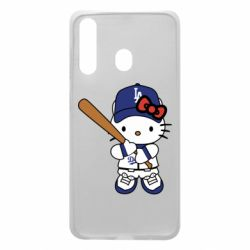 Чохол для Samsung A60 Hello Kitty baseball