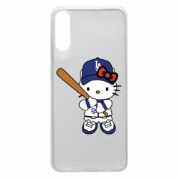 Чохол для Samsung A70 Hello Kitty baseball