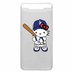 Чохол для Samsung A80 Hello Kitty baseball