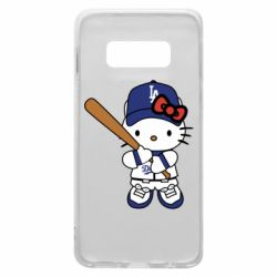 Чохол для Samsung S10e Hello Kitty baseball