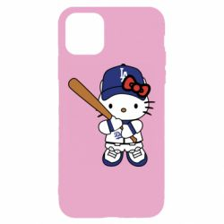 Чохол для iPhone 11 Hello Kitty baseball