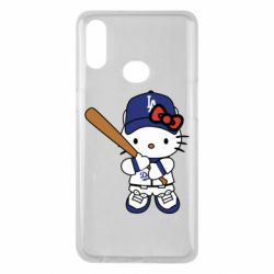 Чохол для Samsung A10s Hello Kitty baseball