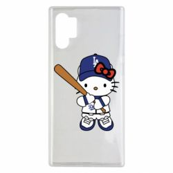 Чохол для Samsung Note 10 Plus Hello Kitty baseball