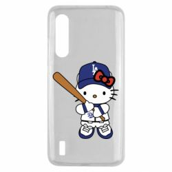 Чохол для Xiaomi Mi9 Lite Hello Kitty baseball