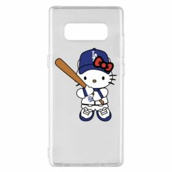 Чохол для Samsung Note 8 Hello Kitty baseball