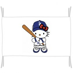 Прапор Hello Kitty baseball