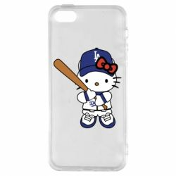 Чохол для iphone 5/5S/SE Hello Kitty baseball