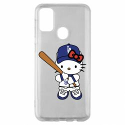 Чохол для Samsung M30s Hello Kitty baseball