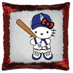 Подушка-хамелеон Hello Kitty baseball