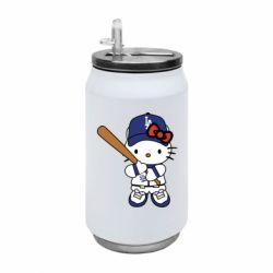 Термобанка 350ml Hello Kitty baseball