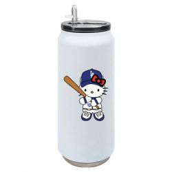 Термобанка 500ml Hello Kitty baseball