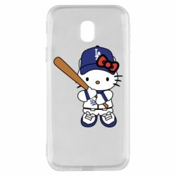 Чохол для Samsung J3 2017 Hello Kitty baseball