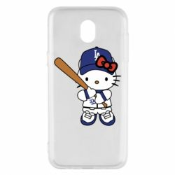 Чохол для Samsung J5 2017 Hello Kitty baseball