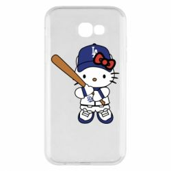 Чохол для Samsung A7 2017 Hello Kitty baseball