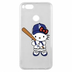 Чохол для Xiaomi Mi A1 Hello Kitty baseball
