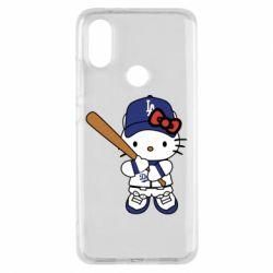 Чохол для Xiaomi Mi A2 Hello Kitty baseball