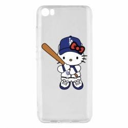 Чохол для Xiaomi Mi5/Mi5 Pro Hello Kitty baseball