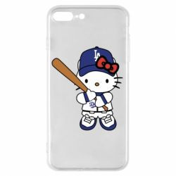 Чохол для iPhone 8 Plus Hello Kitty baseball