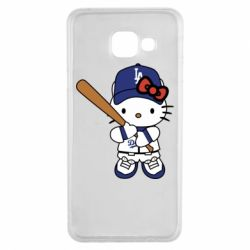 Чохол для Samsung A3 2016 Hello Kitty baseball
