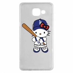 Чохол для Samsung A5 2016 Hello Kitty baseball
