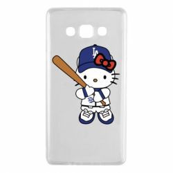 Чохол для Samsung A7 2015 Hello Kitty baseball