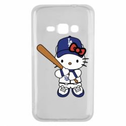 Чохол для Samsung J1 2016 Hello Kitty baseball