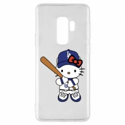 Чохол для Samsung S9+ Hello Kitty baseball