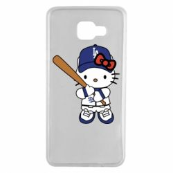 Чохол для Samsung A7 2016 Hello Kitty baseball