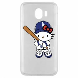 Чохол для Samsung J4 Hello Kitty baseball