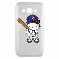Чохол для Samsung J5 2015 Hello Kitty baseball