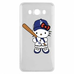 Чохол для Samsung J7 2016 Hello Kitty baseball