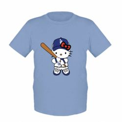 Дитяча футболка Hello Kitty baseball